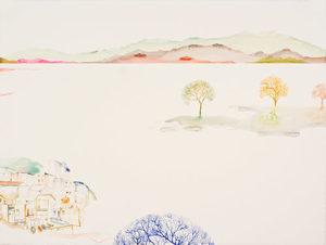 """12 Views (Blue Tree)"" 2008"