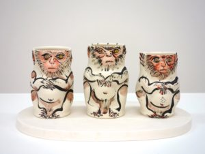 """Three Alert Monkeys"" 2015"