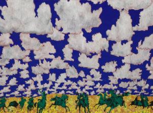 """""""Cloud World (Horsemen)"""" 2015"""