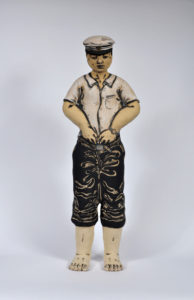 """""""Standing Figure with Military Uniform"""" 1999"""