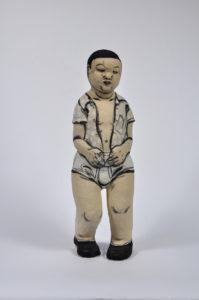 """""""Standing Boy with Underwear"""" 1999"""