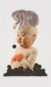 """""""Sitting Monkey"""" 2011"""