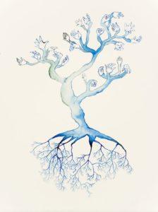 """Blue Bonsai"" 2007"