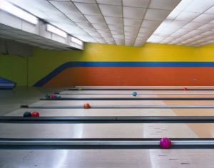 """Bowling Lanes Building 785"" 2003"