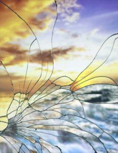 """Broken Mirror/Evening Sky(Kodachrome)"" 2012"