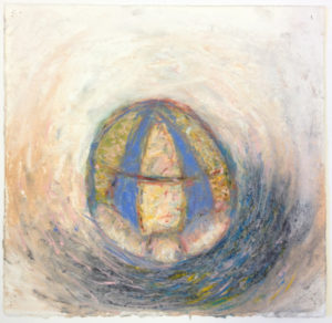"""""""Ball with Blue Stripes"""" 1986"""