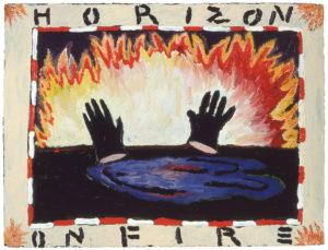"""""""Horizon on Fire"""" 1982"""