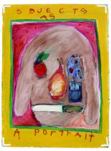 """Object as a Portrait"" 1980"