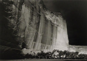 """White House Ruins, Canyon de Chelly, Arizona"" c. 1976"