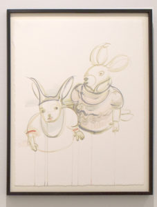 """Two Rabbits in Dresses"" 2019"