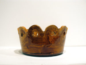 """Crown with Green Frog"" 2009"