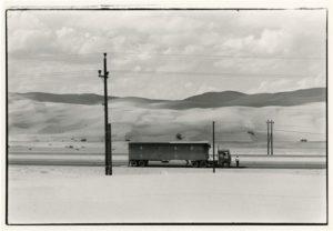 """""""Truck Near Yuma"""" 1962"""