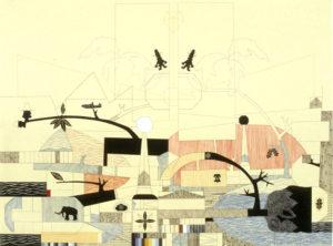 """Primitive Contract for Metropolis Consumption vortex"" 2004"