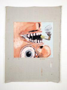 """Untitled"" 2013 (Smoking)"
