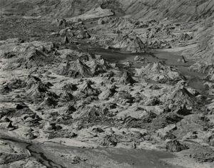 """Bear Cove, Spirit Lake, Mount St. Helens"" 1980"