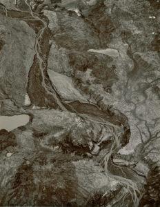 """Toutle River, Mount Saint Helens"" 1981"
