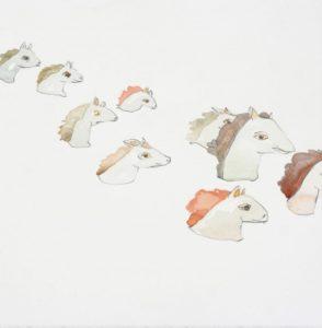 """Homunculus Sketch, Horses"" 2007"