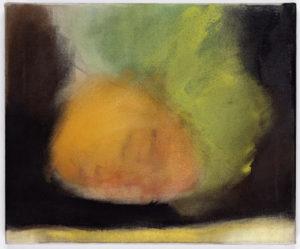 """Floating Orange Head"" 2007"