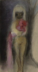 """Girl with red cat"" 2011"