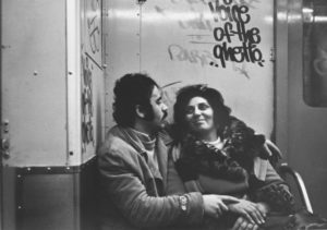"""NYC"" 1978 (man & woman subway)"