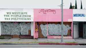 """""""Martinez (from the series: Field notes from South Los Angeles; this world is a fleshless one where madness, love and heretics are all I know)"""" 2013"""