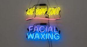"""We Buy Gold Facial Waxing"" 2012"