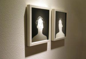 """""""Margot (Mirror Portrait)"""" 2008"""