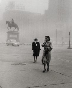 """""""Polvareda, Ciudad de México"""" 1958"""