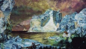 """The Icebergs, after Frederic E. Church"" 2007"