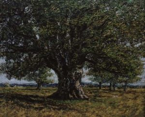 """""""The Oak at Flagey, after Gustave Courbet"""" 2007"""