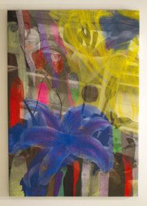 """Manifold Painting (Intercontinental Office Blue)"" 2018"