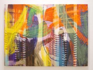 """""""Manifold Painting (Manifold 3)"""" 2018"""