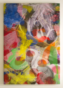 """Manifold Painting (Perishable Gestures)"" 2018"