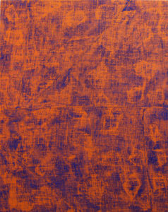 """Porosity (Orange Scrim)"" 2015"