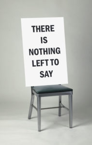 """Nothing Left to Say"" 2004"