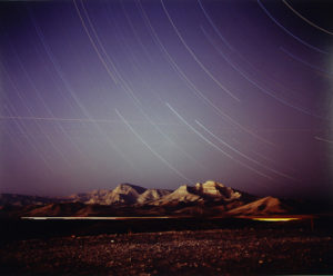 """Night Landscape near Nellis Air Force Base"" 1999"