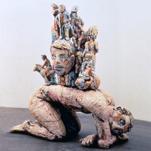 Nude with Figurines  1992