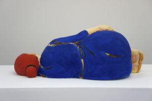 """""""Sleeping Woman in Blue Dress"""" 2013"""