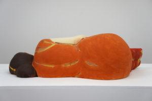 """Sleeping Woman in Orange Dress"" 2013"