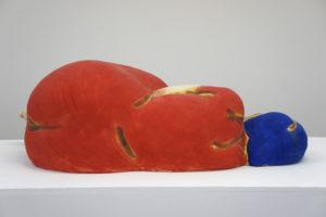 """Sleeping Woman in Red Dress"" 2013"