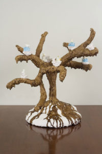 """Tree (Three Blue Bears)"" 2007"