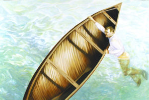 """Torqued Canoe"" 2005"