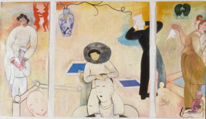 """""""Touch & Go"""" (triptych), 1991"""