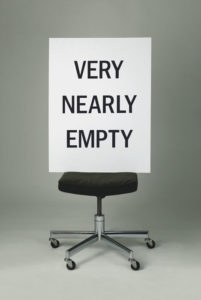 """Very Nearly Empty"" 2004"