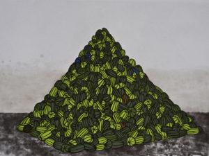 """Watermelon Pyramid"" 2007"