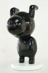"""""""Dog Boy Black"""" 2007"""
