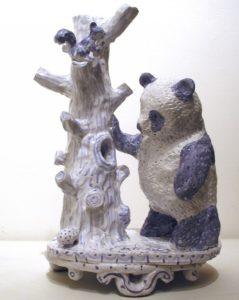 """""""Panda with a Honey Tree"""" 2006"""