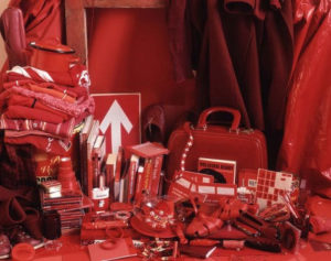 """All my things/Red"" 2004"