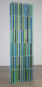 """Stela: Diatomes Blue/Green"" 2007"