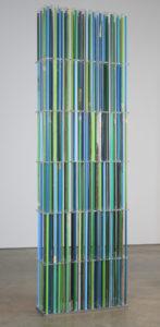 """Stela: Diatomes Blue/Green"" 2007"